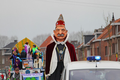 Carnavalstoet Steendorp 2014 - Deel 1