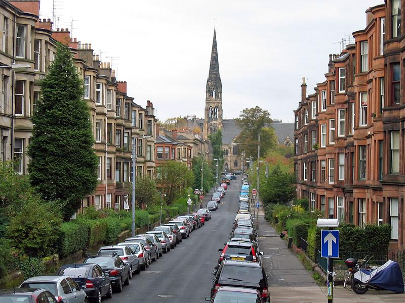 Sept. 30/07 - The Partick neighbourhood, Glasgow.