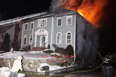 Melrose, MA - 3rd Alarm, 6 Indian Hill Lane, 1-14-09