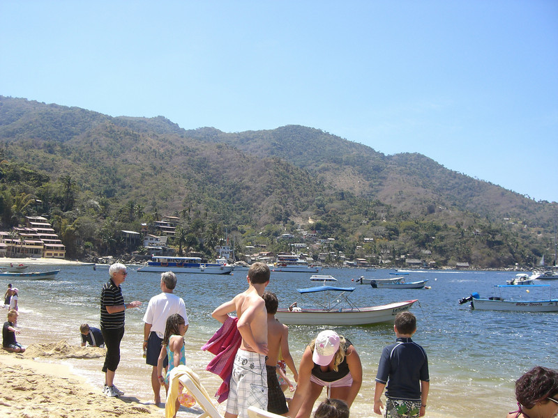 The people watching in Yelapa was awesome!