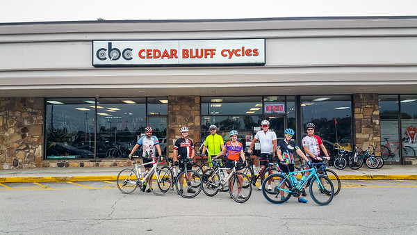 CBC Wednesday C Group Road Ride August 22nd, 2018