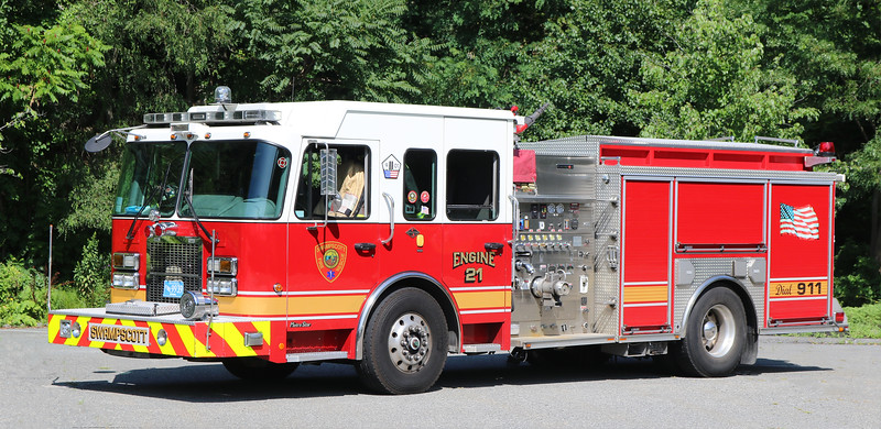Engine 22.  2008 Spartan / Crimson.  1500 / 500 / 50F