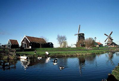 Zaanse Schans and Volendam