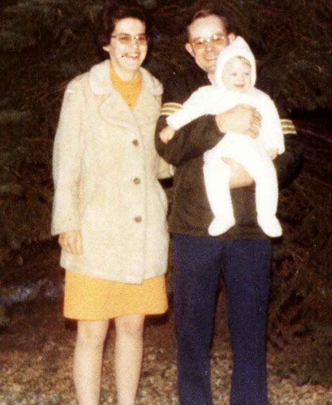 Ellen and her parents