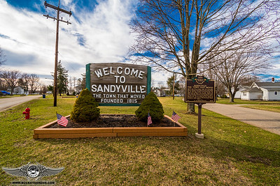 Sandyville, Ohio Flooding 2-25-2018
