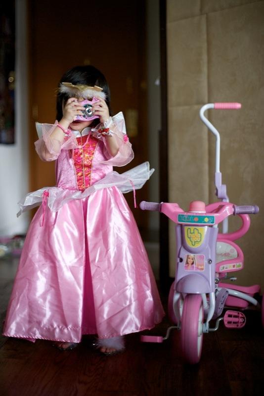 Princess with a camera