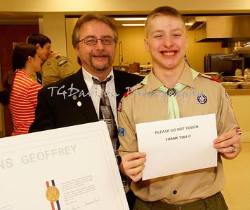 Kaczmarek Eagle Scout Ceremony