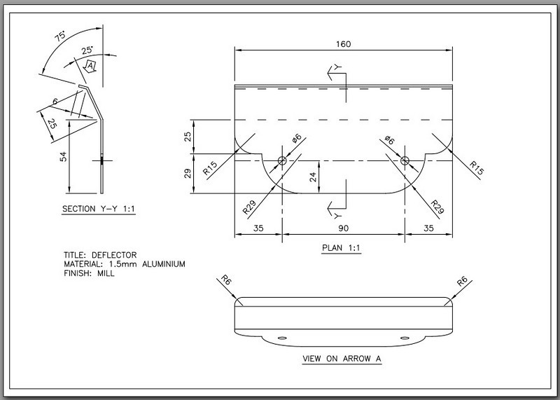 Design Schematic - AndyW's (www.MTS1200.info) custom cylinder head / valve cover guard (MKI version, see link below for MKII)  COPYRIGHT ANDYW