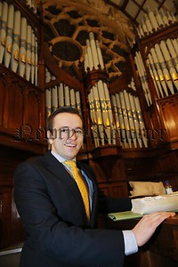 Cathal Murphy the new Director of Muisic at Clonard Picture By Hugh Russell
