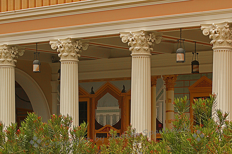 Getty Villa Decorative Walls ~