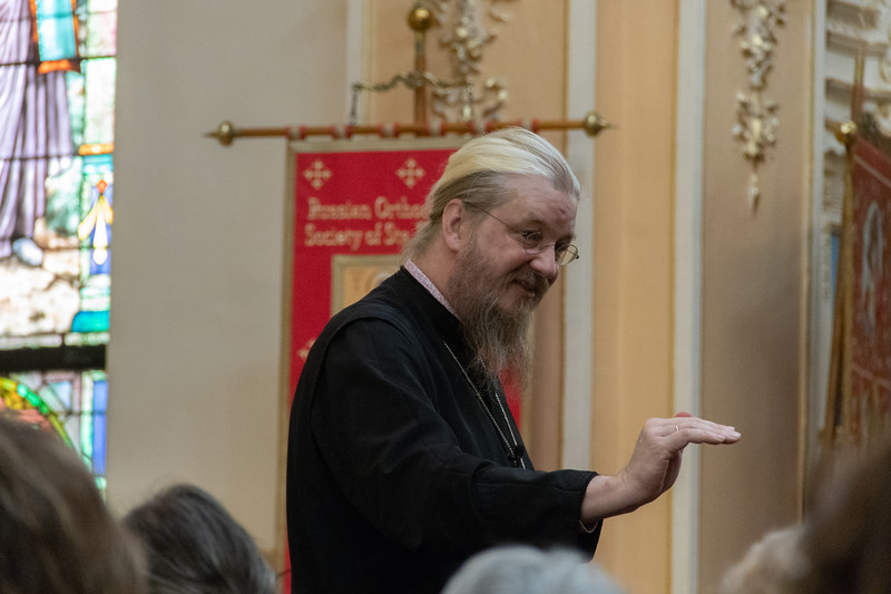 Retreat with Fr. John behr