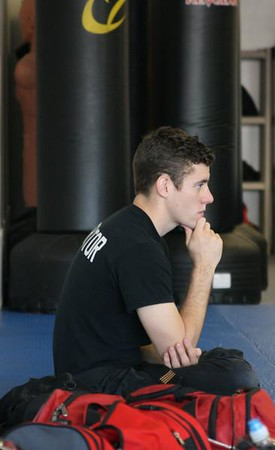 MMA studio shots