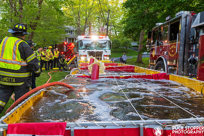 Tanker Drill - Shelter Rock Rd, Stamford, CT - 5/10/21