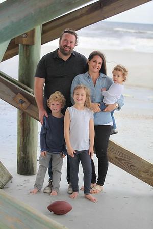 Shilts Family, Jacksonville, Florida Fall 2017