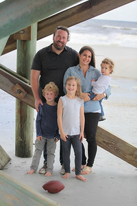 Shilts Family, Jacksonville, Florida Fall 2017