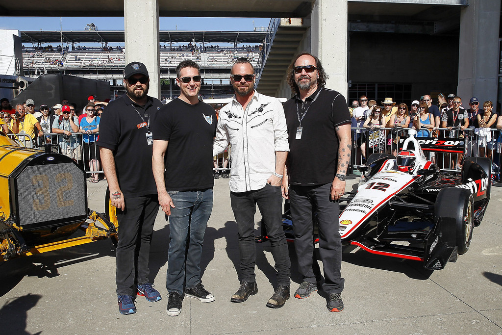 . Live attends the 2014 Indy 500 at Indianapolis Motorspeedway on May 25, 2014 in Indianapolis, Indiana. (Photo by Michael Hickey/Getty Images)