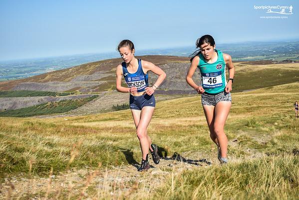 British and Irish Junior Mountain Championships - Junior Women Ascent