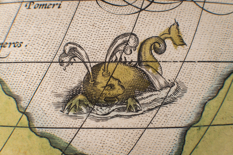 Abraham Ortelius collection of maps/atlases, ca. 1570s