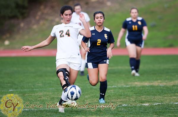 1-30-18 Girls Varsity Soccer VS Santa Clarita