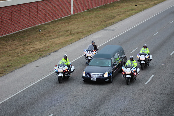 Funeral procession for Fallen SMPD officer Kenneth Copeland