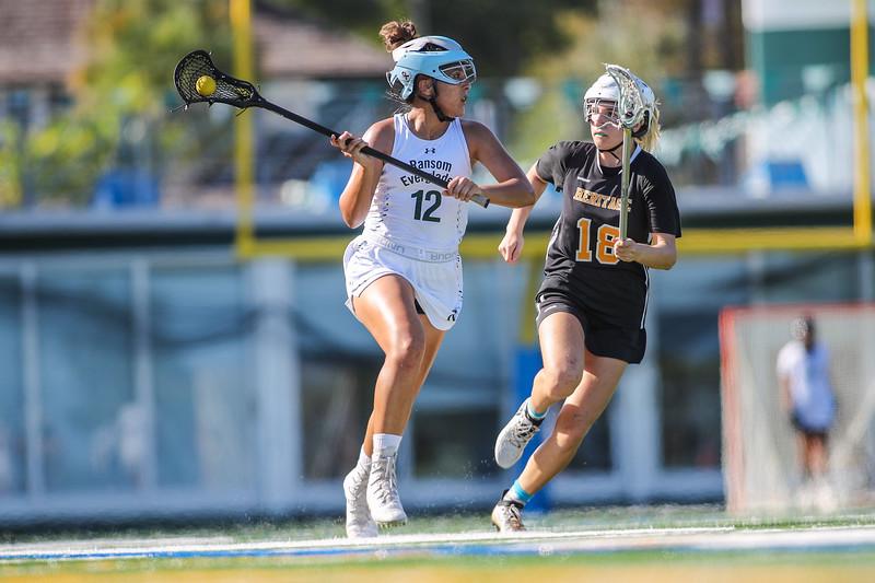 Ransom Everglades Girls Lacrosse vs. American Heritage