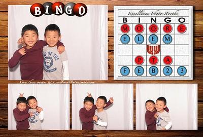 Moore Elementary PTA Bingo Night