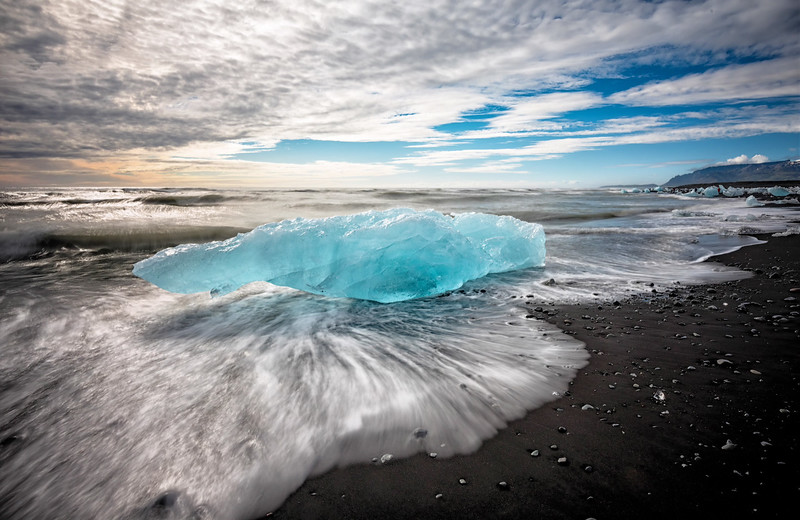 Black Beach of Iceland