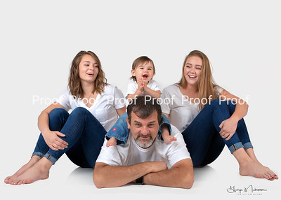 2018 Family white shirt shoot