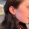 1.70ctw Old European Cut Diamond Clover Stud Earrings, GIA H-I SI 2