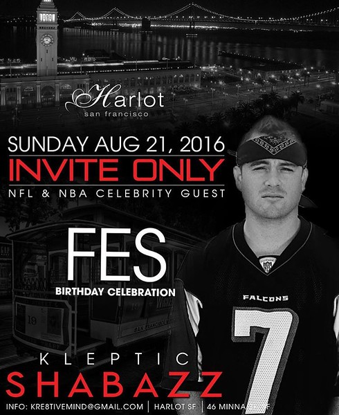Invite Only @ Harlot SF 8.21.16