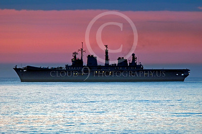 British Royal Navy Amphibious Assault Aircraft Carrier Warship Pictures