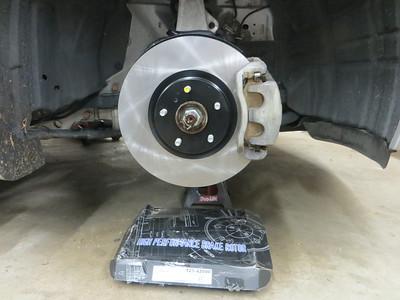 39,800 front rotors