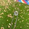 2.32ct Flat Oval Shape Diamond GIA J SI1 11