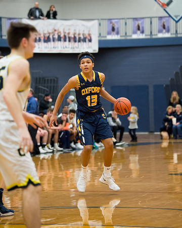 Varsity Basketball @ Clarkston 3/9/2018