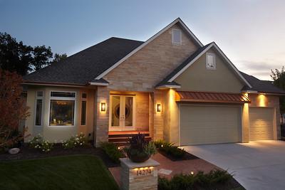 Pure Design Trace Ridge Model Home Exterior