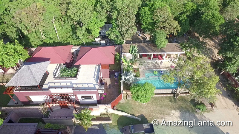 Villa Matahari Aerial View