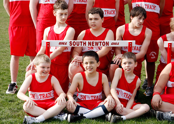 SNMS Track Team 2009