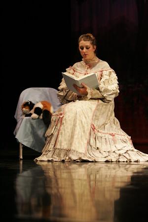 Hawkins Ballet Alice in Wonderland Rehersal