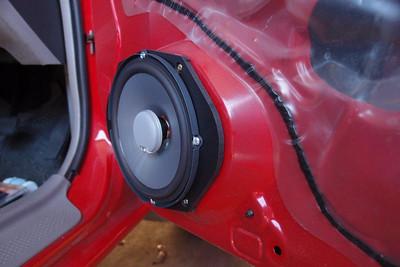 323 Speaker Installations