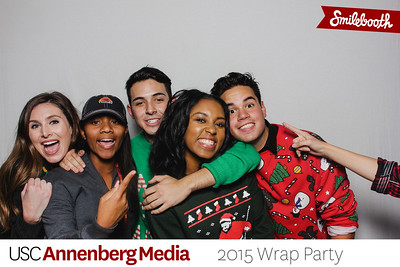 annenberg media center wrap party