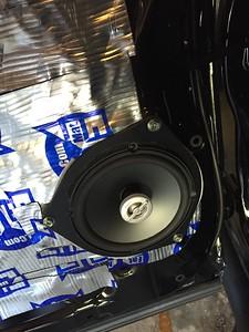 2013 Toyota Tundra Double Cab Rear Door Speaker Installation - USA