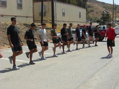 Marines Run Clinic 6-08