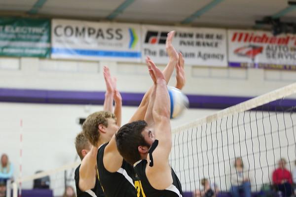 Volleyball Boys Varsity vs GR Chr - KCHS 4/23/19