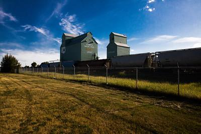 Leduc Heritage Grain Elevator