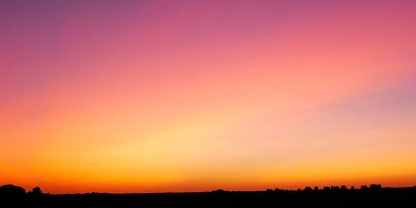 Sunsets in Illinois
