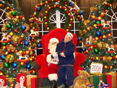 Santa at the CC Mall, 2008