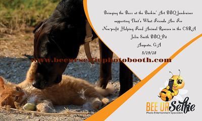Barkin' Art BBQ Fundraiser 5-19-18