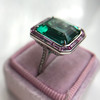 11.77ct Tourmaline Halo Ring by Leon Mege, AGL Cert 49