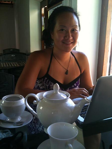 Loving the tea in Sri Lanka