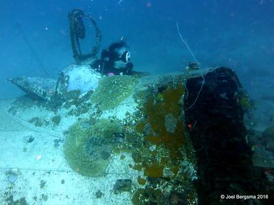 Wreck - Betty Bomber G4M1 - 2016